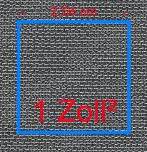 Finemesh Quadratzoll 500