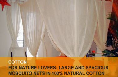 Cotton mosquito nets