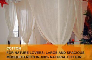 Cotton mosquito nets
