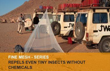 Fine mesh mosquito nets