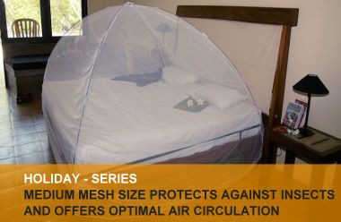 Holiday mosquito nets